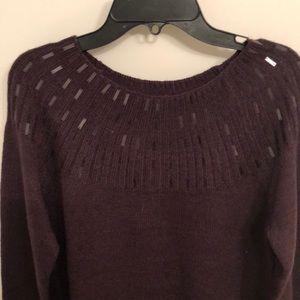 Apt. 9 Sweaters - NWT apt 9 purple sweater